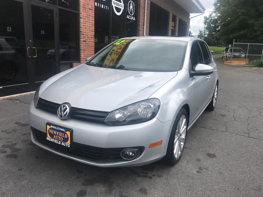 Used Volkswagen Golf 4dr HB DSG TDI w/Sunroof & Nav 2012 | Newfield Auto Sales. Middletown, Connecticut