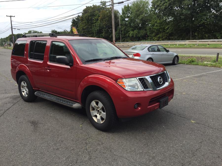 2010 Nissan Pathfinder 4WD 4dr V6 S, available for sale in Meriden, Connecticut | Five Star Cars LLC. Meriden, Connecticut