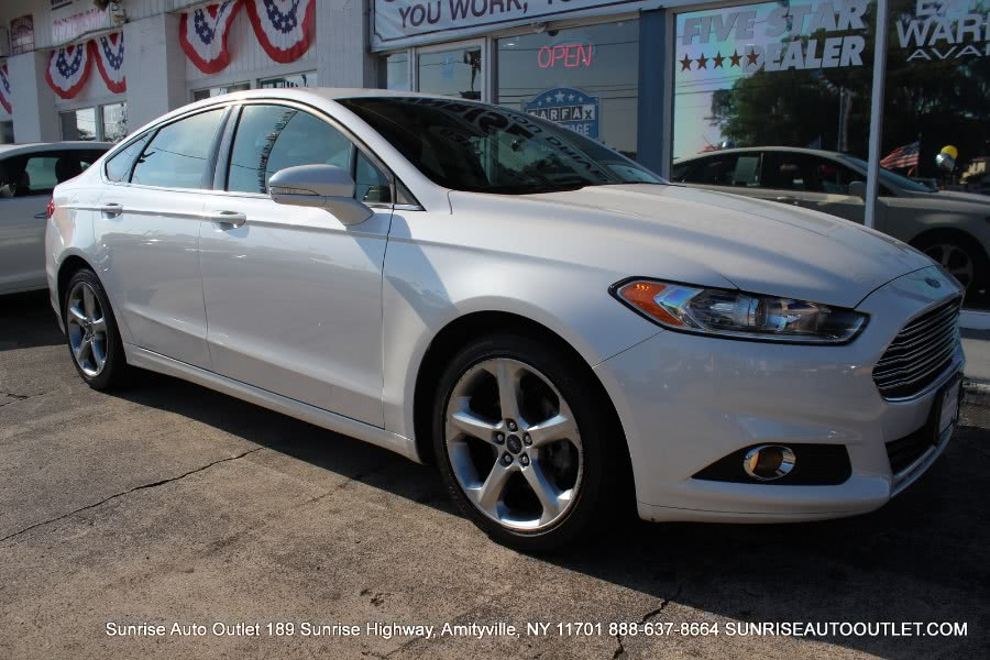 2015 Ford Fusion 4dr Sdn SE FWD, available for sale in Jamaica, New York | Hillside Auto Mall Inc.. Jamaica, New York