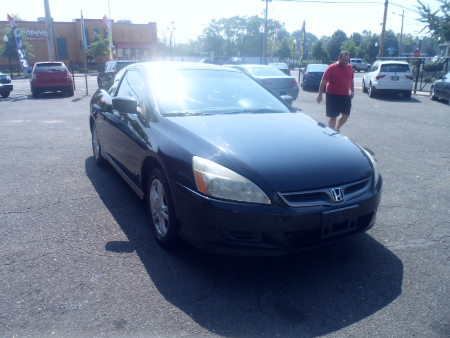2007 Honda Accord Cpe 2dr I4 AT LX, available for sale in Bridgeport, Connecticut | Hurd Auto Sales. Bridgeport, Connecticut