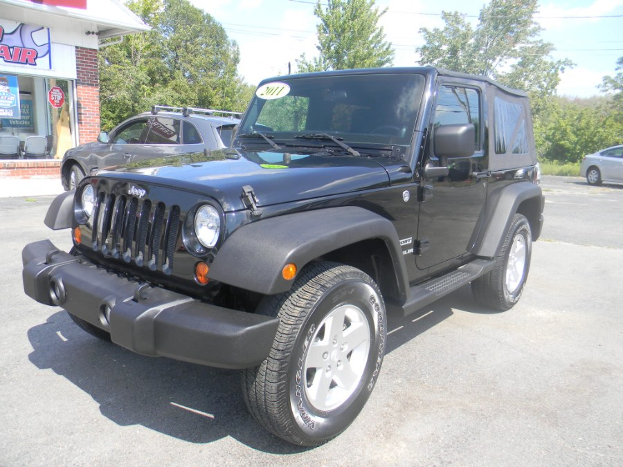 2011 Jeep Wrangler 4WD 2dr Sport, available for sale in Southborough, Massachusetts | M&M Vehicles Inc dba Central Motors. Southborough, Massachusetts