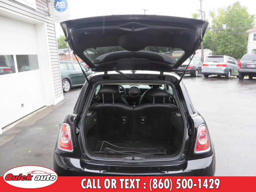 2012 MINI Cooper Hardtop 2dr Cpe S, available for sale in Bristol, Connecticut | Quick Auto LLC. Bristol, Connecticut