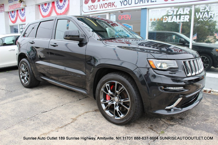 2014 Jeep Grand Cherokee 4WD 4dr SRT8, available for sale in Jamaica, New York | Hillside Auto Mall Inc.. Jamaica, New York