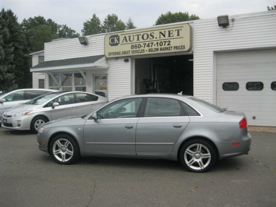 2007 Audi A4 2.0 Quattro Sedan, available for sale in Plainville, Connecticut   CK Autos. Plainville, Connecticut