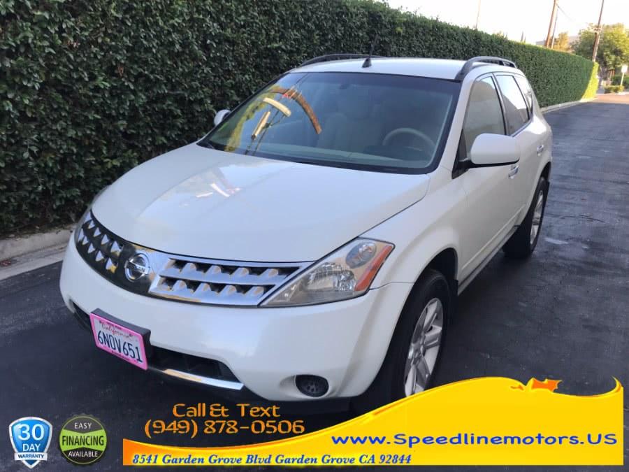 Used 2006 Nissan Murano in Garden Grove, California | Speedline Motors. Garden Grove, California