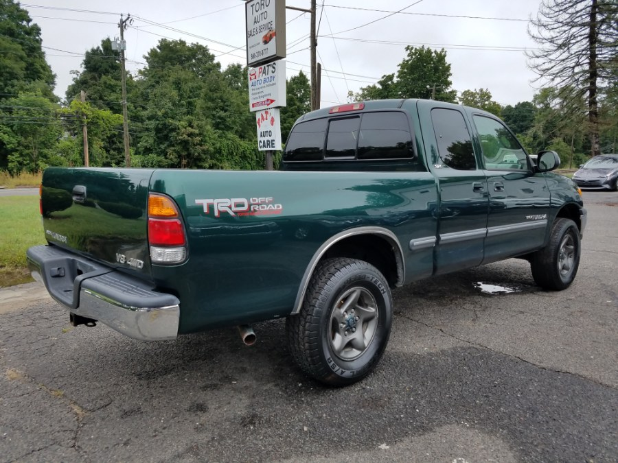 2000 Toyota Tundra Access Cab V8 Auto SR5 4WD NEW FRAME, available for sale in East Windsor, Connecticut | Toro Auto. East Windsor, Connecticut