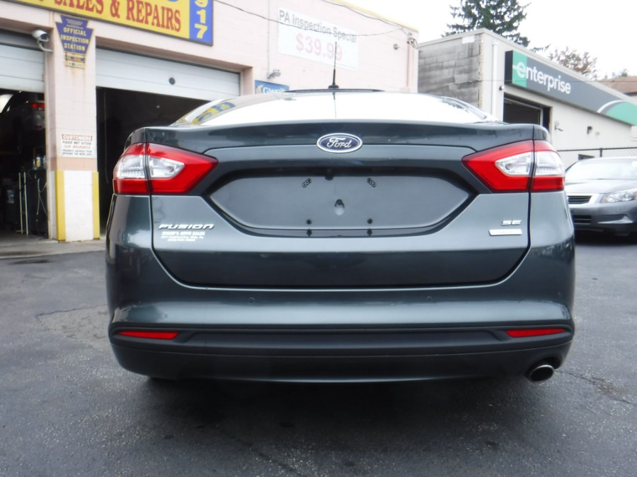 2015 Ford Fusion 4dr Sdn SE FWD, available for sale in Philadelphia, Pennsylvania | Eugen's Auto Sales & Repairs. Philadelphia, Pennsylvania