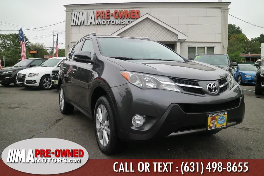 Used Toyota RAV4 AWD 4dr Limited (Natl) 2014 | M & A Motors. Huntington, New York