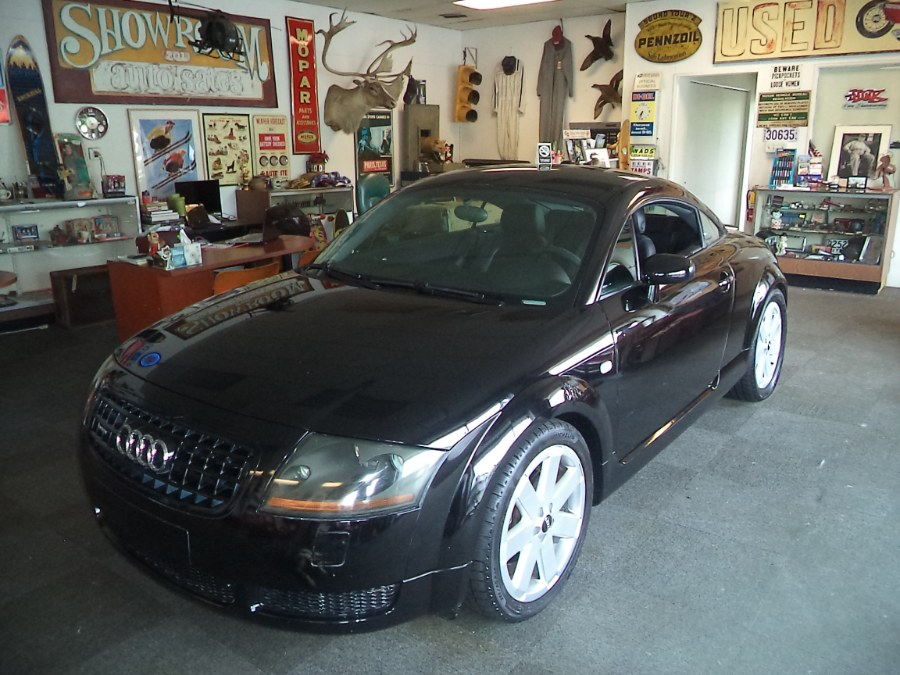 2005 Audi TT 2dr Cpe quattro Manual, available for sale in Naugatuck, Connecticut | Riverside Motorcars, LLC. Naugatuck, Connecticut
