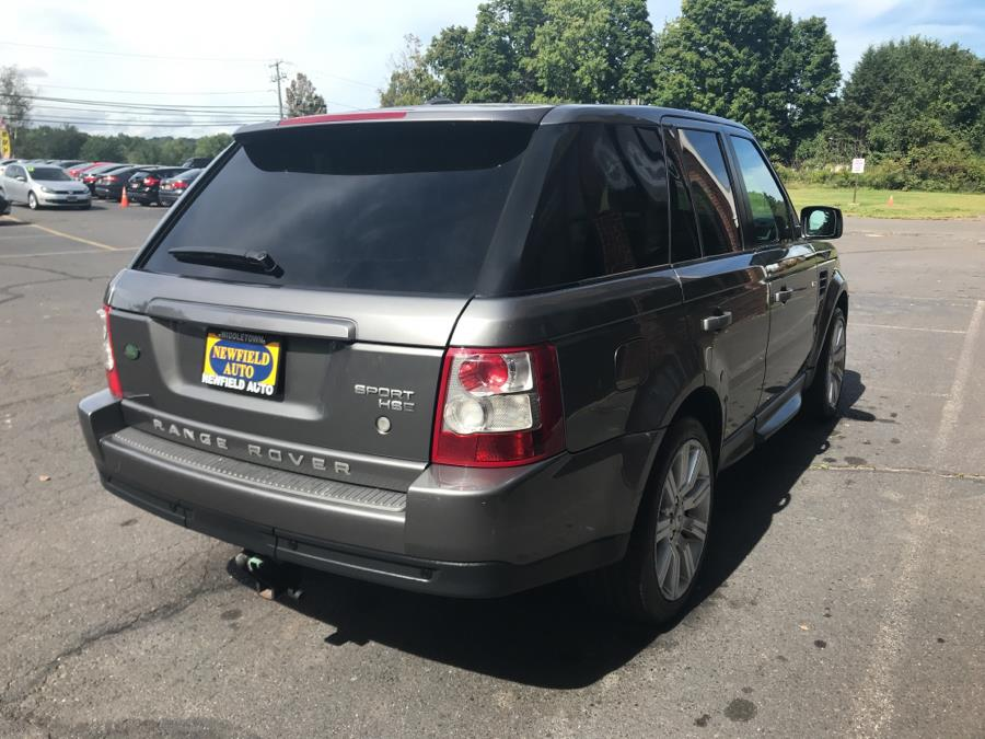 2009 Land Rover Range Rover Sport 4WD 4dr HSE, available for sale in Middletown, Connecticut | Newfield Auto Sales. Middletown, Connecticut