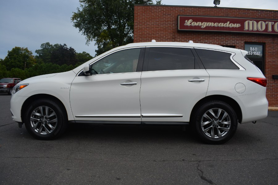 2014 INFINITI QX60 AWD 4dr Hybrid, available for sale in ENFIELD, Connecticut | Longmeadow Motor Cars. ENFIELD, Connecticut