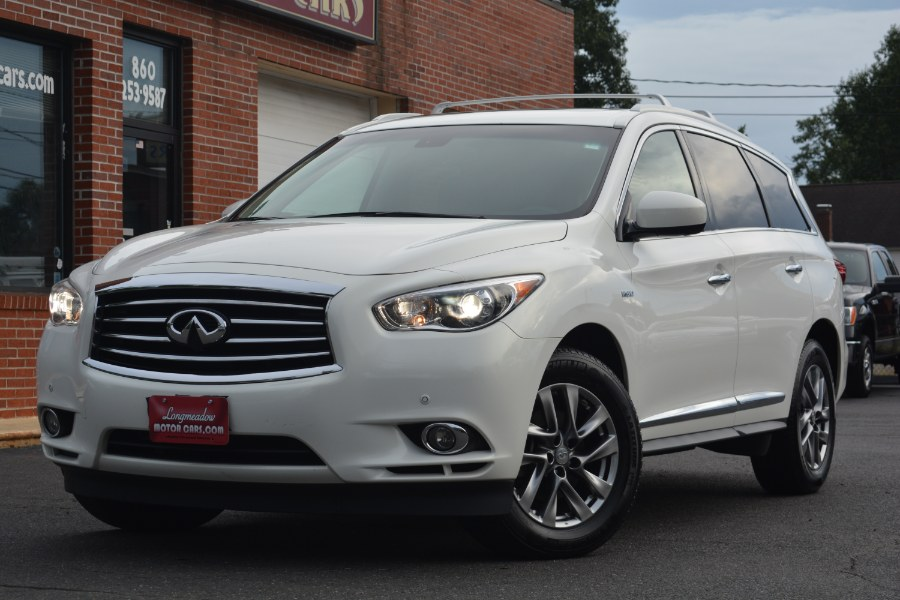 2014 INFINITI QX60 AWD 4dr Hybrid, available for sale in ENFIELD, CT