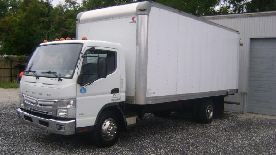 Used Mitsubishi FE160 18ft box 2013 | TSM Automotive Consultants Ltd.. West Babylon, New York