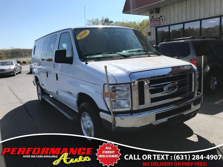 Used Ford Econoline Cargo Van E-250 Commercial 2009 | Performance Auto Inc. Bohemia, New York