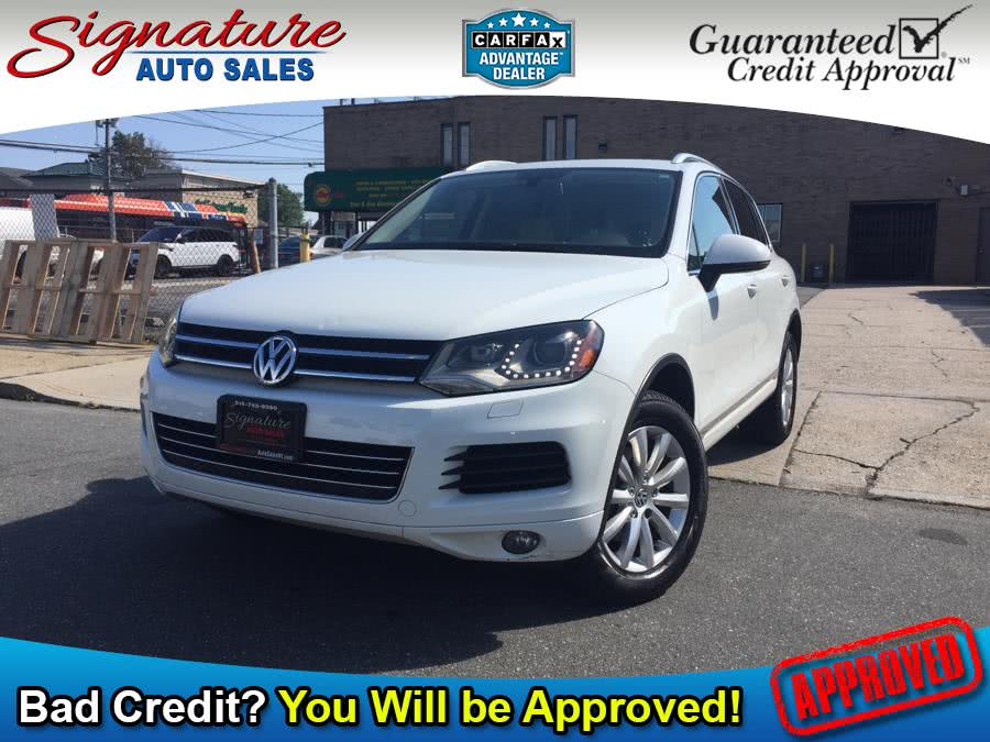 2012 Volkswagen Touareg 4dr VR6 Lux, available for sale in Franklin Square, New York   Signature Auto Sales. Franklin Square, New York