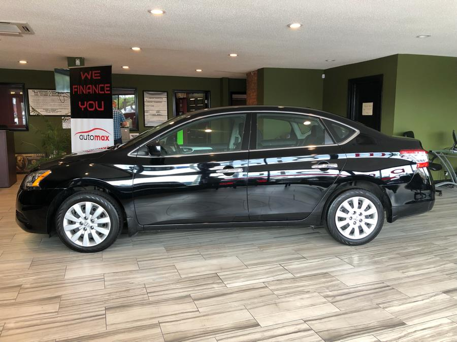 Used Nissan Sentra 4dr Sdn I4 CVT SV 2015 | AutoMax. West Hartford, Connecticut