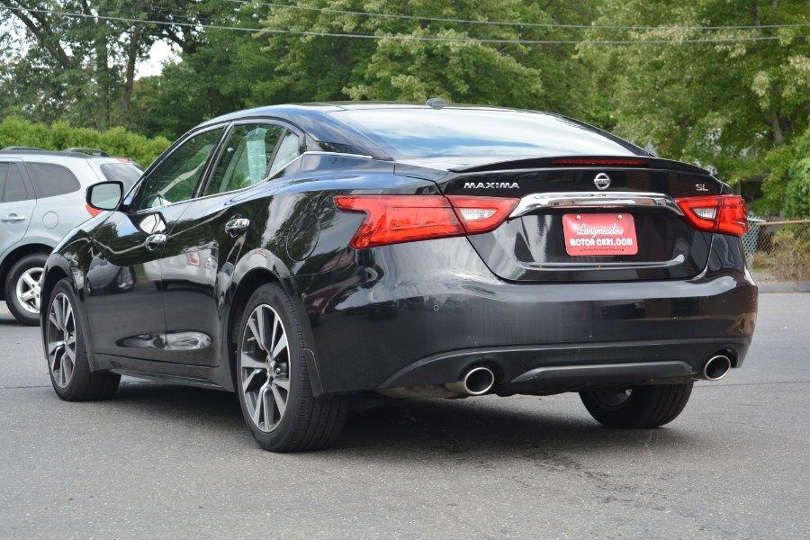 2016 Nissan Maxima 4dr Sdn 3.5 SL, available for sale in ENFIELD, Connecticut | Longmeadow Motor Cars. ENFIELD, Connecticut