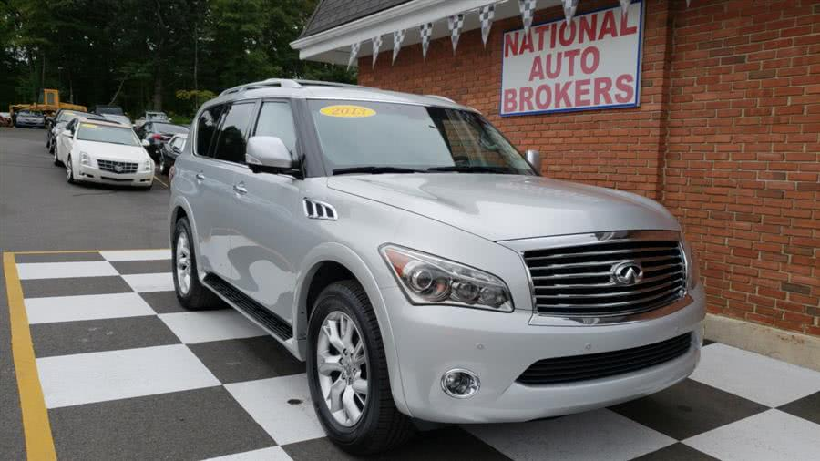 Used 2013 Infiniti QX56 in Waterbury, Connecticut | National Auto Brokers, Inc.. Waterbury, Connecticut