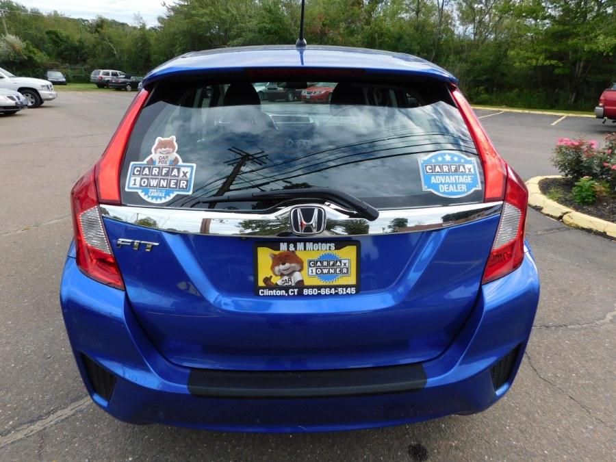 2016 Honda Fit 5dr HB CVT EX, available for sale in Clinton, Connecticut   M&M Motors International. Clinton, Connecticut
