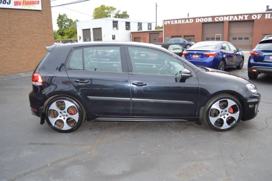 2012 Volkswagen GTI 4dr HB Man w/Sunroof & Navi PZEV, available for sale in Hartford, Connecticut   Locust Motors LLC. Hartford, Connecticut