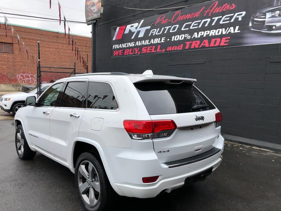2014 Jeep Grand Cherokee 4WD 4dr Overland, available for sale in Newark, New Jersey | RT Auto Center LLC. Newark, New Jersey