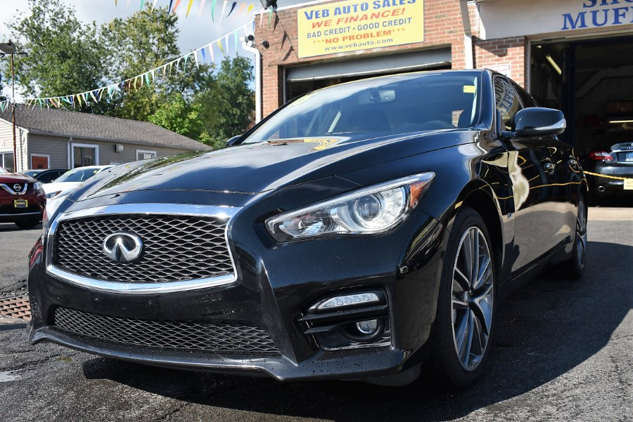2015 Infiniti Q50 4dr Sdn  Sport AWD, available for sale in Berlin, Connecticut | Tru Auto Mall. Berlin, Connecticut