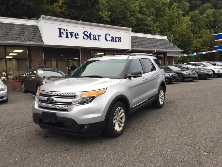 Used Ford Explorer 4WD 4dr XLT 2013 | Five Star Cars LLC. Meriden, Connecticut