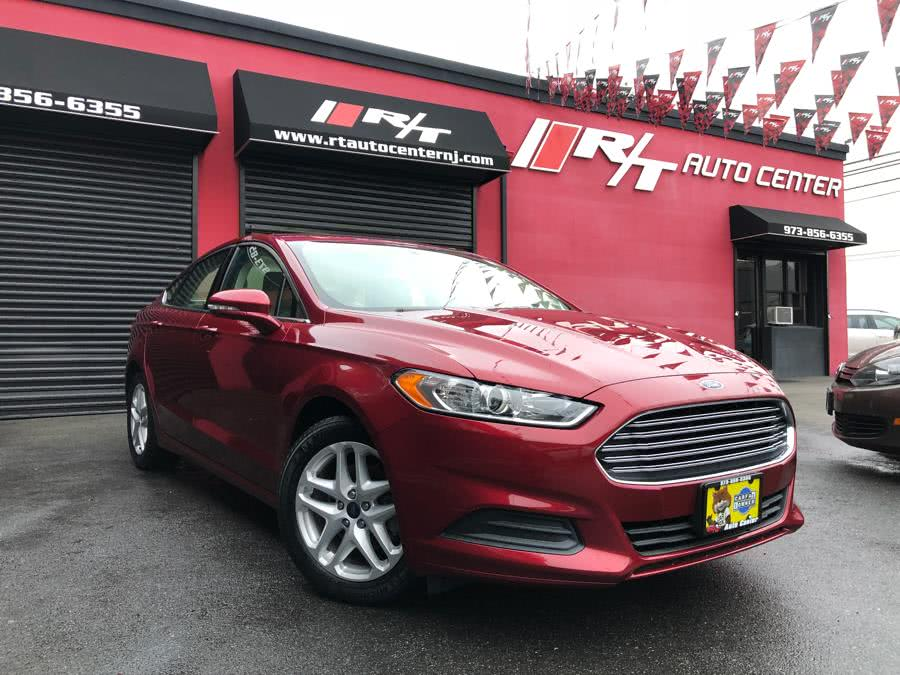 2016 Ford Fusion 4dr Sdn SE FWD, available for sale in Newark, New Jersey | RT Auto Center LLC. Newark, New Jersey