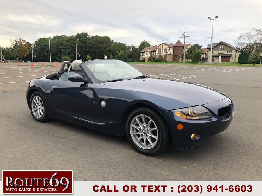 2005 BMW Z4 2dr Roadster 2.5i, available for sale in Prospect, Connecticut | Rt 69 Auto Sales & Service. Prospect, Connecticut