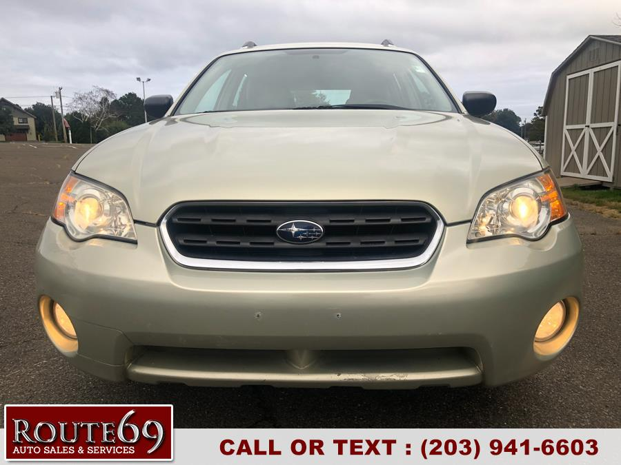 2006 Subaru Legacy Wagon Outback 2.5i Manual PZEV, available for sale in Prospect, Connecticut | Rt 69 Auto Sales & Service. Prospect, Connecticut