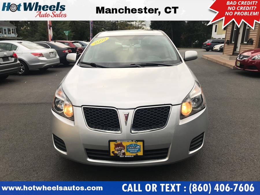 2009 Pontiac Vibe 4dr HB FWD w/1SB, available for sale in Manchester, Connecticut | Hot Wheels Auto Sales LLC. Manchester, Connecticut