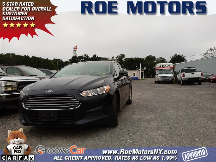 2016 Ford Fusion 4dr Sdn SE FWD, available for sale in Shirley, New York | Roe Motors Ltd. Shirley, New York