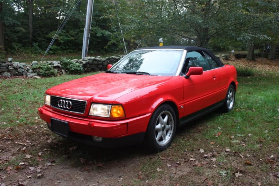 Used Audi Cabriolet 2dr Convertible 1997 | Bridge Motors LLC. Derby, Connecticut