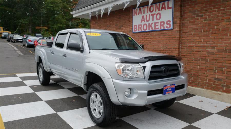 Used Toyota Tacoma 4WD Double Cab Longbed V6 AT 2011 | National Auto Brokers, Inc.. Waterbury, Connecticut