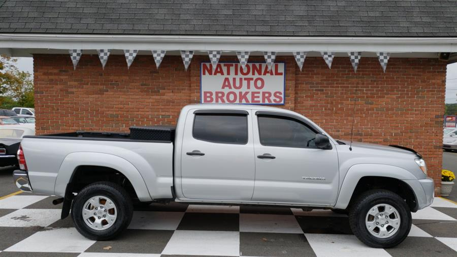 2011 Toyota Tacoma 4WD Double Cab Longbed V6 AT, available for sale in Waterbury, Connecticut | National Auto Brokers, Inc.. Waterbury, Connecticut