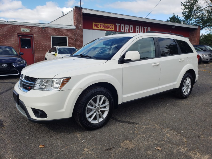 2017 Dodge Journey SXT, available for sale in East Windsor, Connecticut | Toro Auto. East Windsor, Connecticut