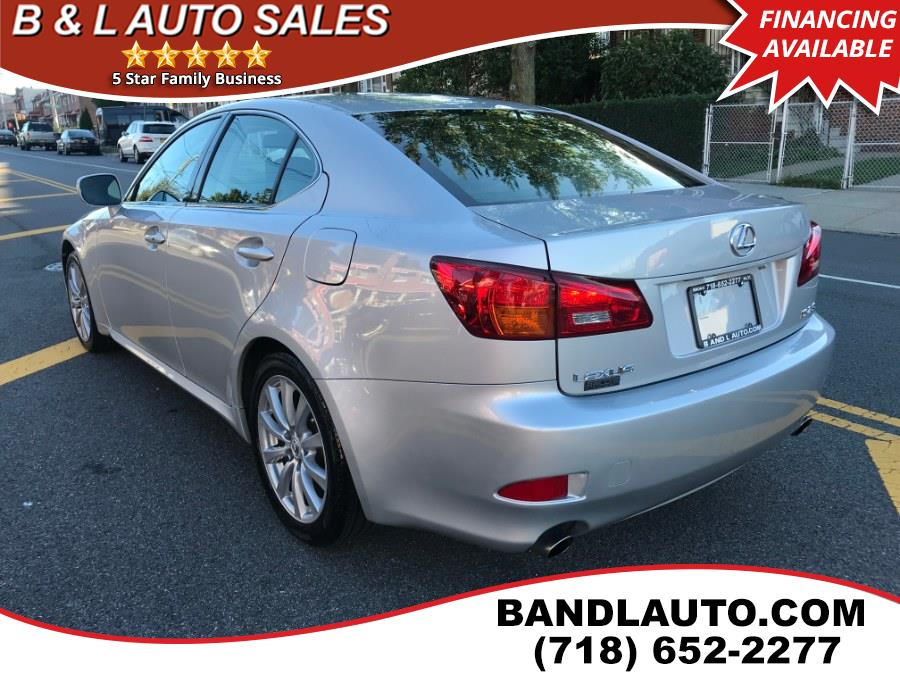 2006 Lexus IS 250 4dr Sport Sedan, available for sale in Bronx, New York | B & L Auto Sales LLC. Bronx, New York
