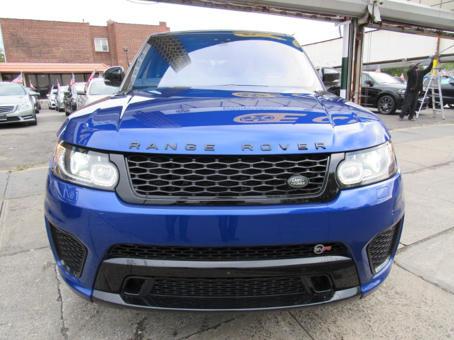 2017 Land Rover Range Rover Sport V8 Supercharged SVR, available for sale in Brooklyn, New York | E Cars . Brooklyn, New York