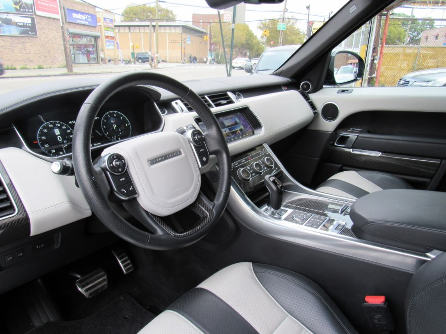 2017 Land Rover Range Rover Sport V8 Supercharged SVR, available for sale in South Richmond Hill, New York | ID Auto Mall . South Richmond Hill, New York