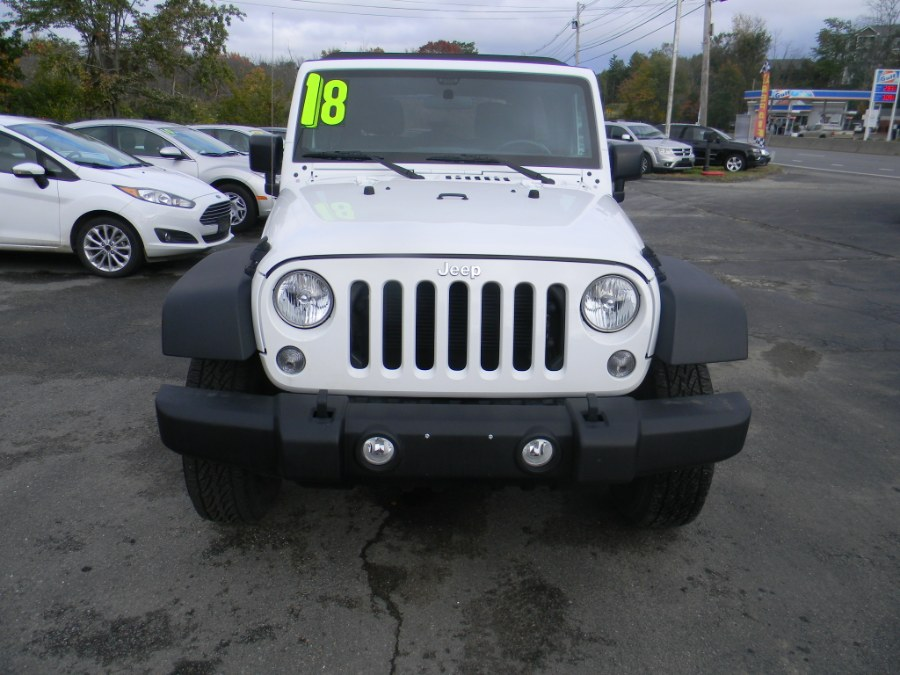 2018 Jeep Wrangler JK Unlimited Sport 4x4, available for sale in Southborough, Massachusetts | M&M Vehicles Inc dba Central Motors. Southborough, Massachusetts