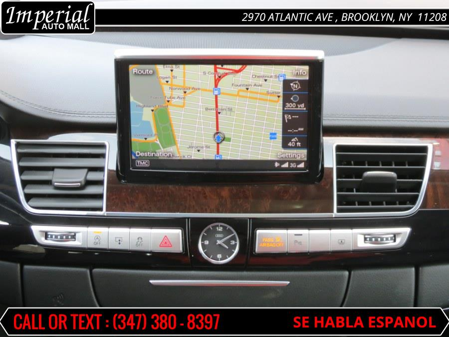 2015 Audi A8 L 4dr Sdn 3.0T, available for sale in Brooklyn, New York | Imperial Auto Mall. Brooklyn, New York