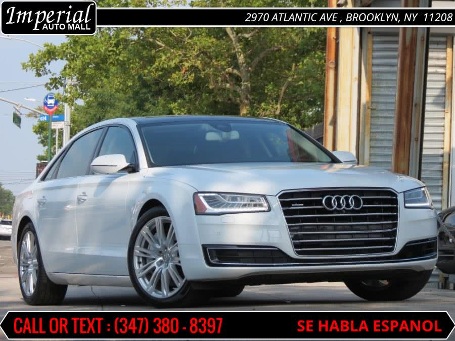 Used 2015 Audi A8 L in Brooklyn, New York | Imperial Auto Mall. Brooklyn, New York