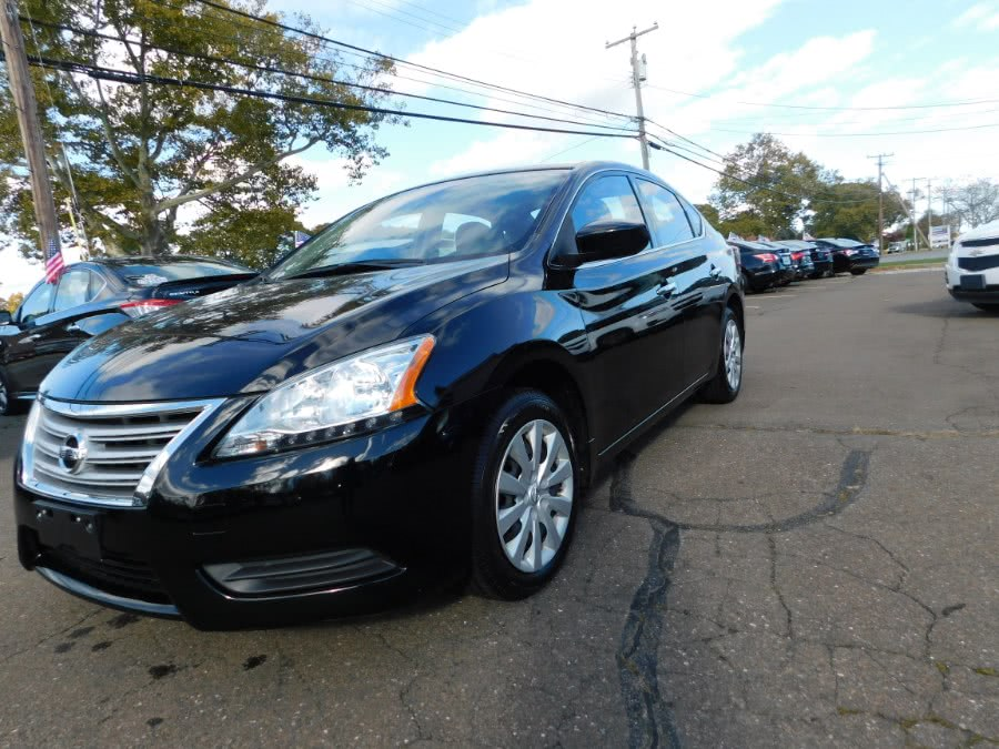 Used Nissan Sentra 4dr Sdn I4 CVT SV 2015 | M&M Motors International. Clinton, Connecticut
