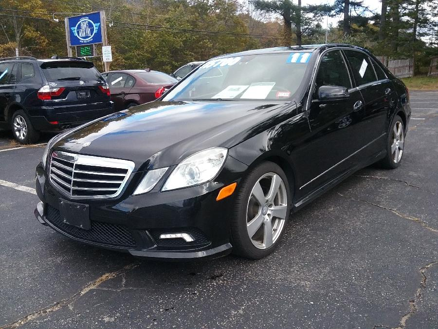 2011 Mercedes-Benz E-Class 4dr Sdn E350 Luxury 4MATIC, available for sale in Rochester, New Hampshire | Hagan's Motor Pool. Rochester, New Hampshire