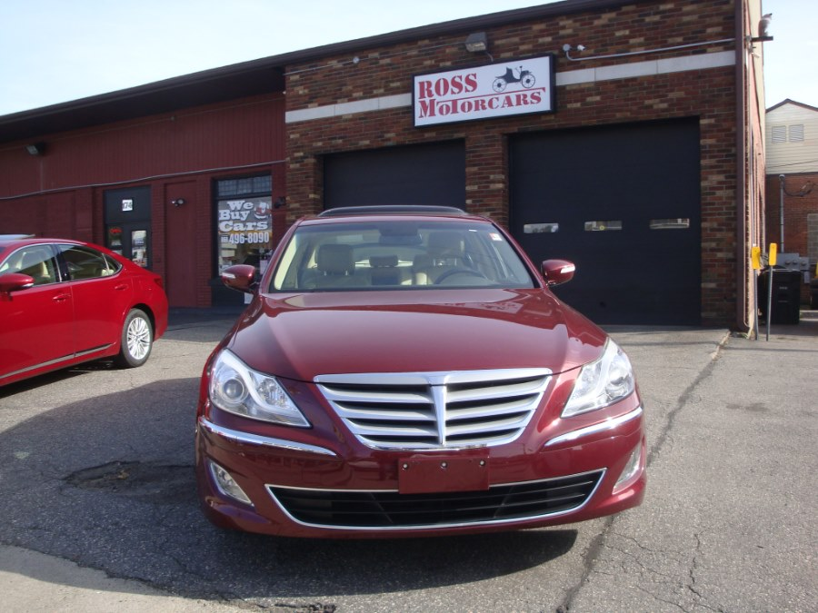 2012 Hyundai Genesis 4dr Sdn V6 3.8L, available for sale in Torrington, Connecticut | Ross Motorcars. Torrington, Connecticut