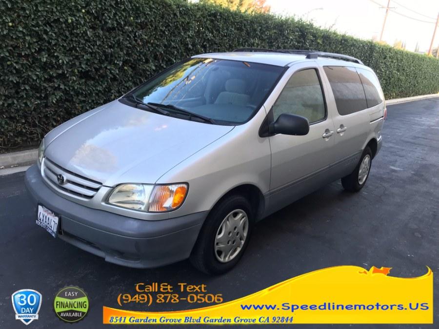 2002 Toyota Sienna 5dr CE (SE), available for sale in Garden Grove, California | Speedline Motors. Garden Grove, California