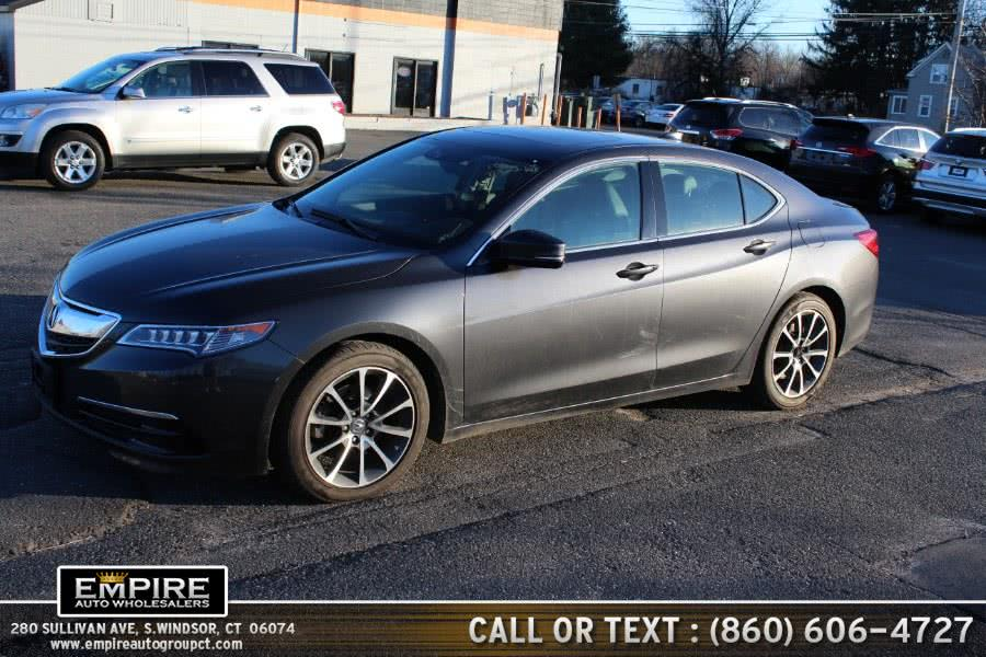 Used 2015 Acura TLX in S.Windsor, Connecticut | Empire Auto Wholesalers. S.Windsor, Connecticut