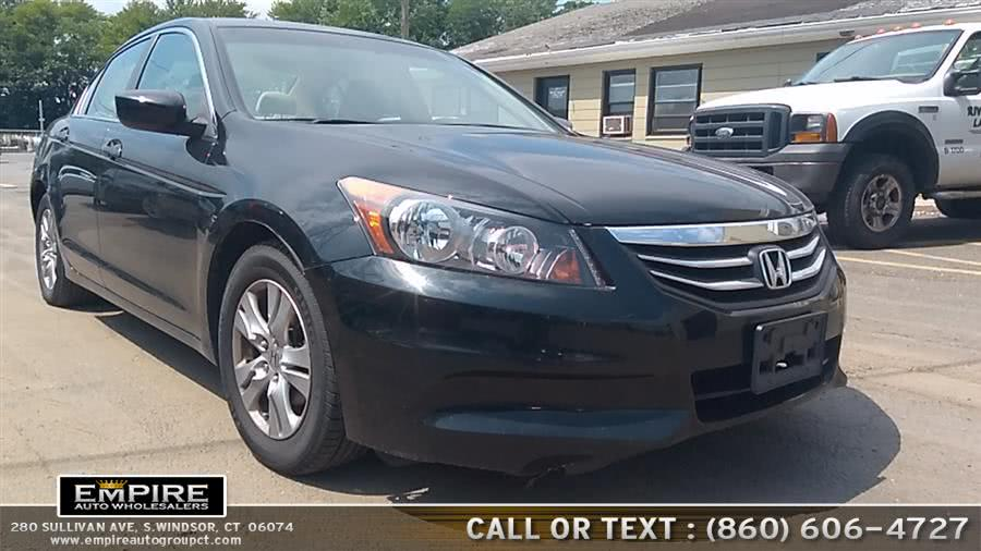 Used Honda Accord Sdn SE 2012 | Empire Auto Wholesalers. S.Windsor, Connecticut