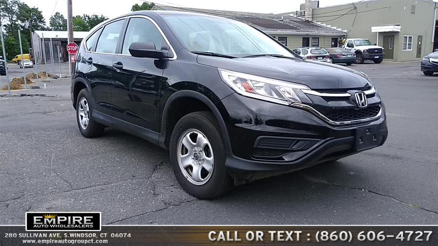 Used 2015 Honda CR-V in S.Windsor, Connecticut | Empire Auto Wholesalers. S.Windsor, Connecticut