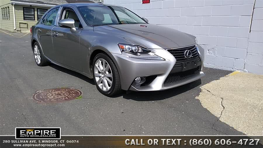 Used 2014 Lexus IS 250 in S.Windsor, Connecticut | Empire Auto Wholesalers. S.Windsor, Connecticut